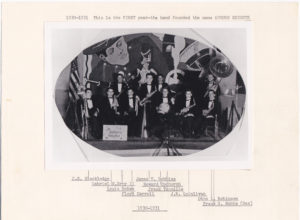 1930s - 1st Band